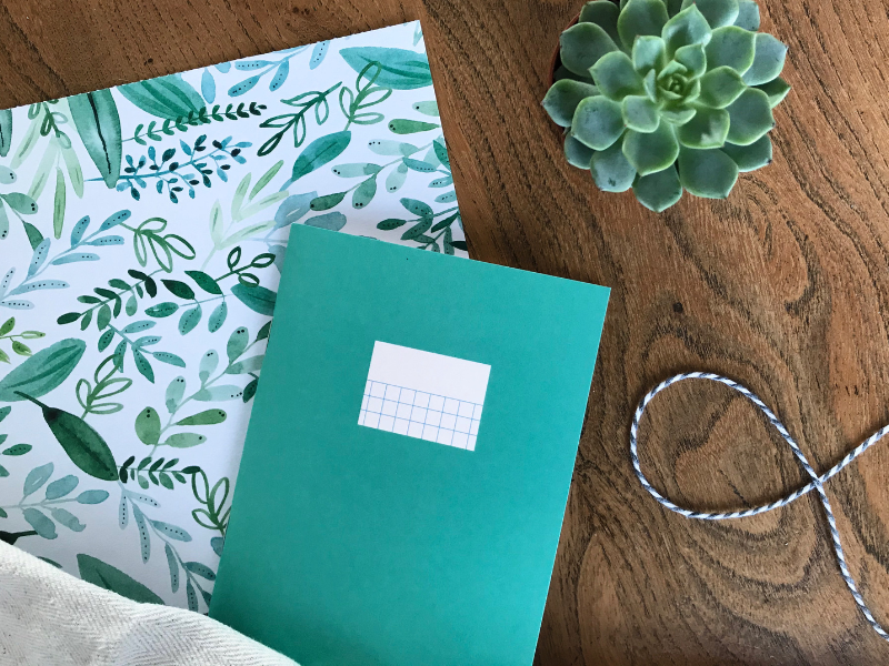 Green Flatlay from Your Radiant Business